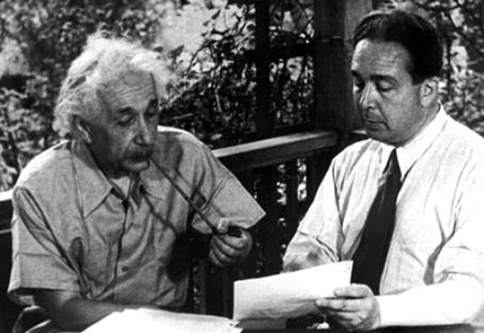 Leo Szilard ,Albert Einstein