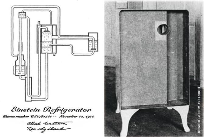 einstein buzdolabı