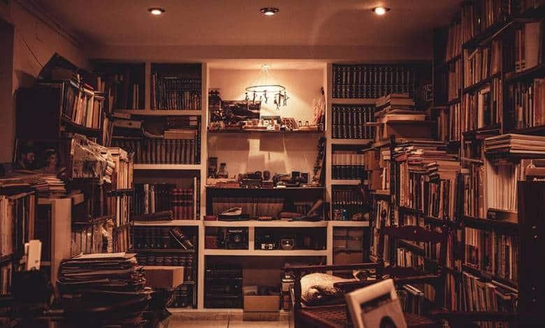 kütüphane ev